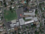 Aerial view of Emperor School, Temple City, CA.